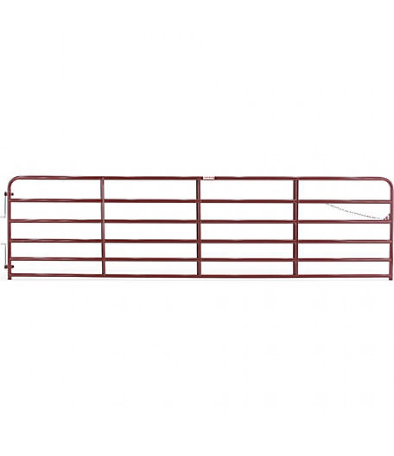 Tarter Painted 2 in. Tube Gate, 16 ft.