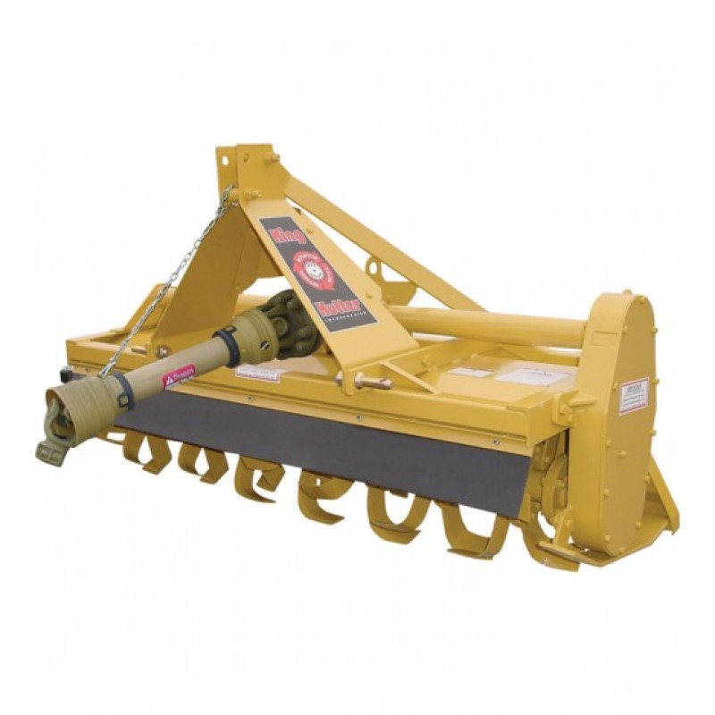 King Kutter Gear-Driven Reverse Tine Rotary Tiller - 60in.W RTG-60