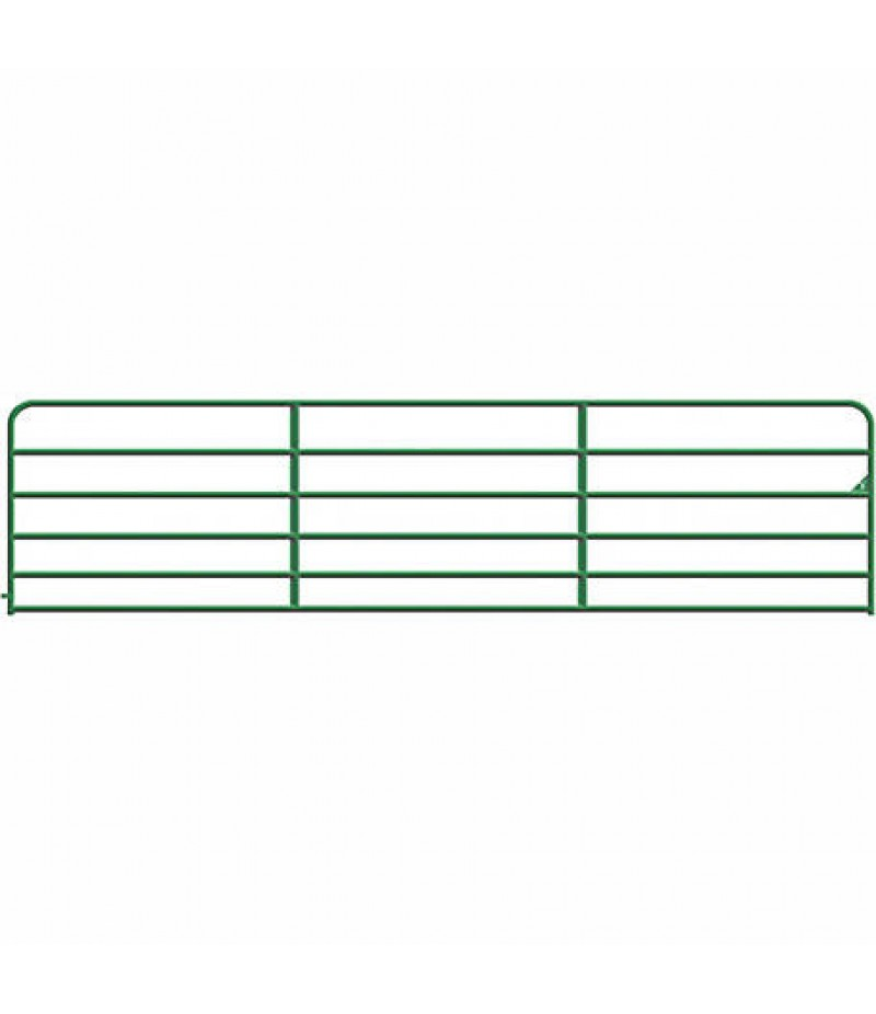 CountyLine Tube Gate, 16 ft., Green