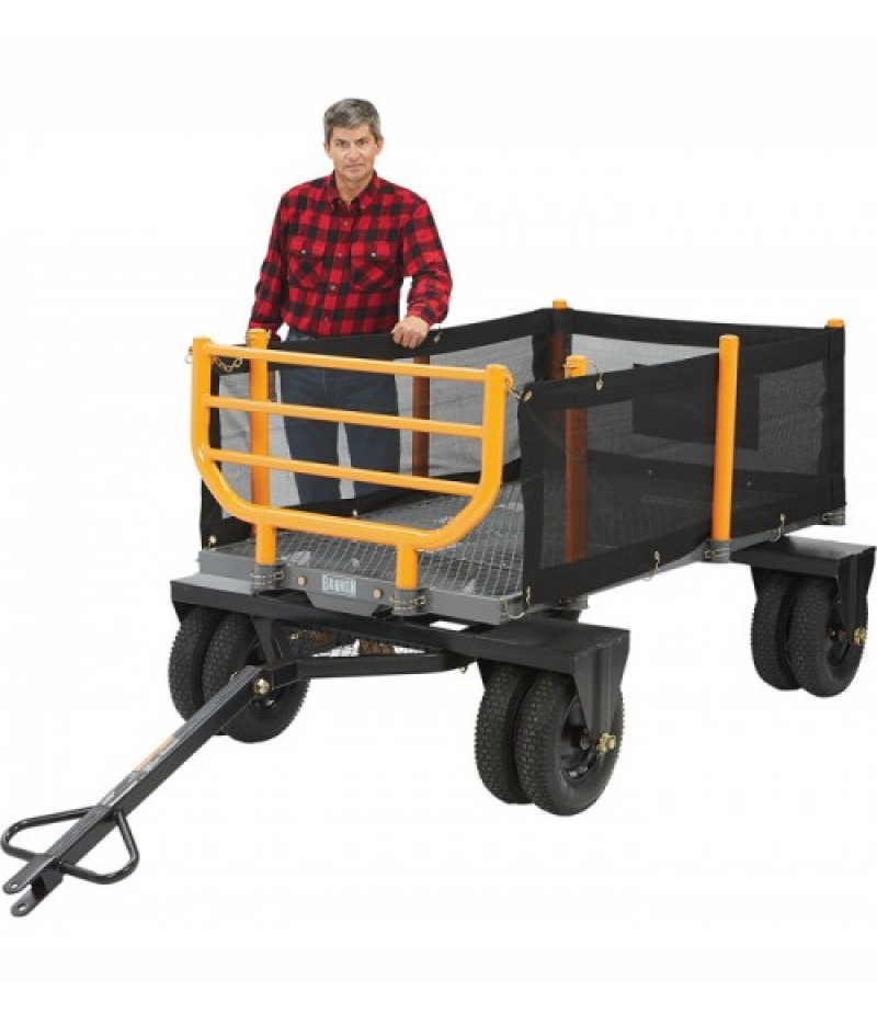Bannon 3-In-1 Convertible Logging Wagon - 1,800-Lb. Capacity, 36 Cu. Ft