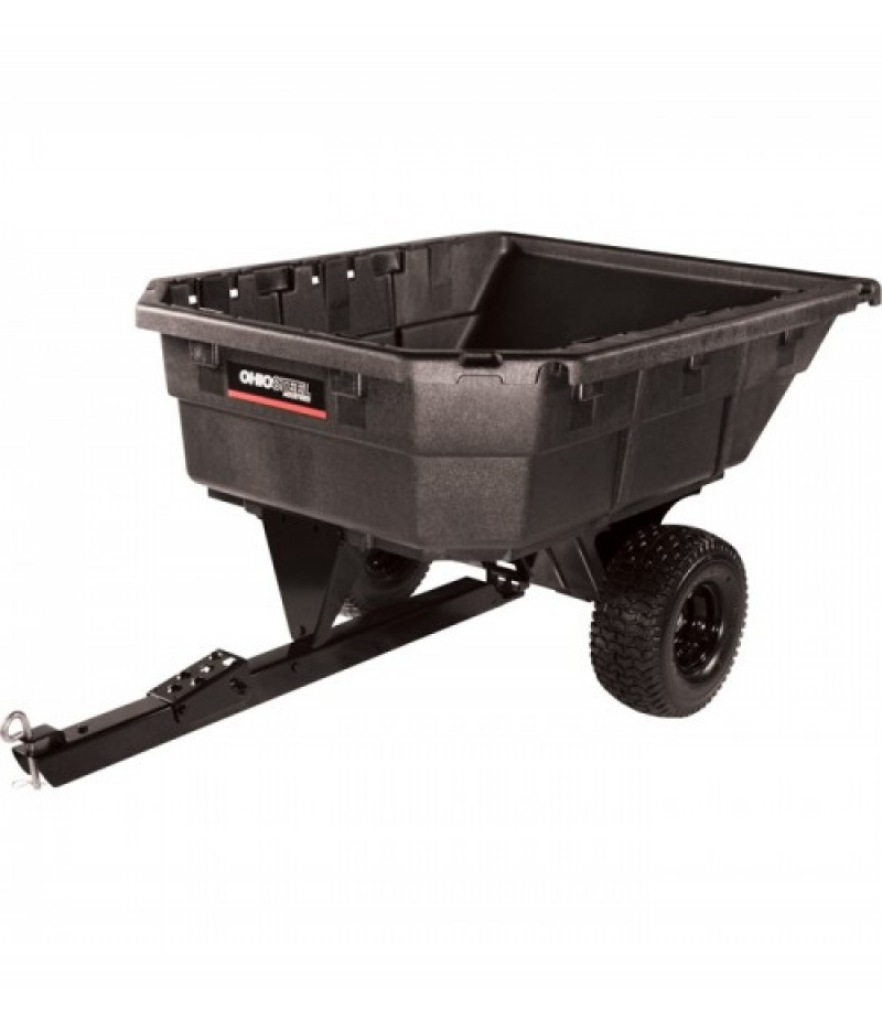 Ohio Steel ATV Trailer - 750-Lb. Capacity, 12.5 Cu. Ft - Model  4048P-SD