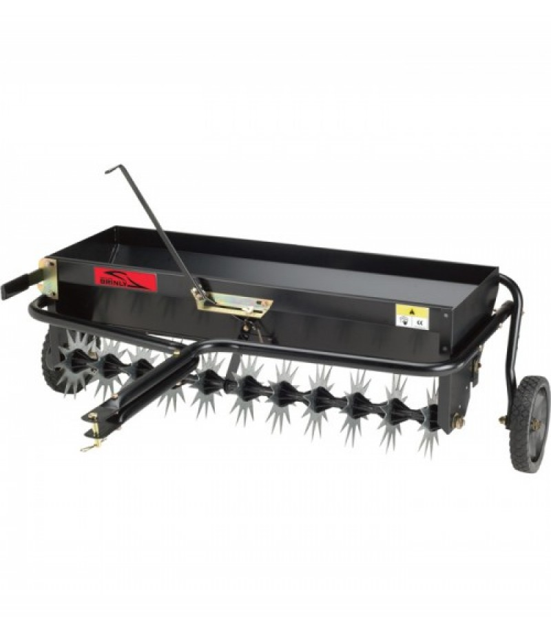 Brinly-Hardy Tow-Behind Aerator/Spreader - 40in - Model AS-40BH