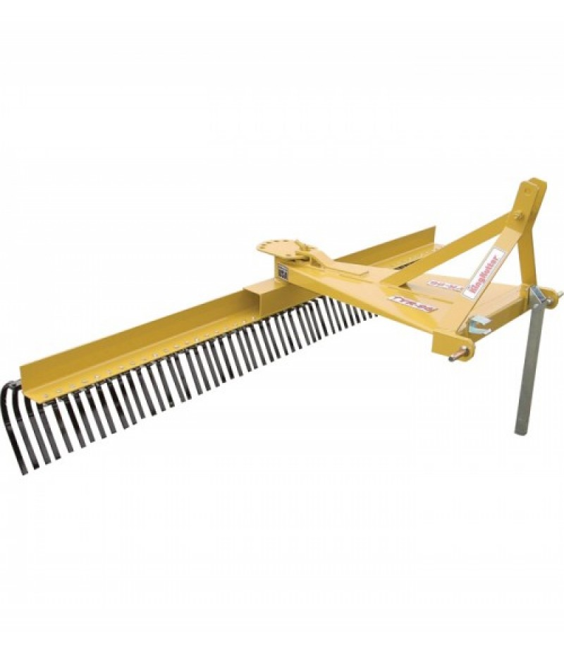 King Kutter 3-Pt. Landscape Rake - 8Ft.W, Model# TYR-96-YK