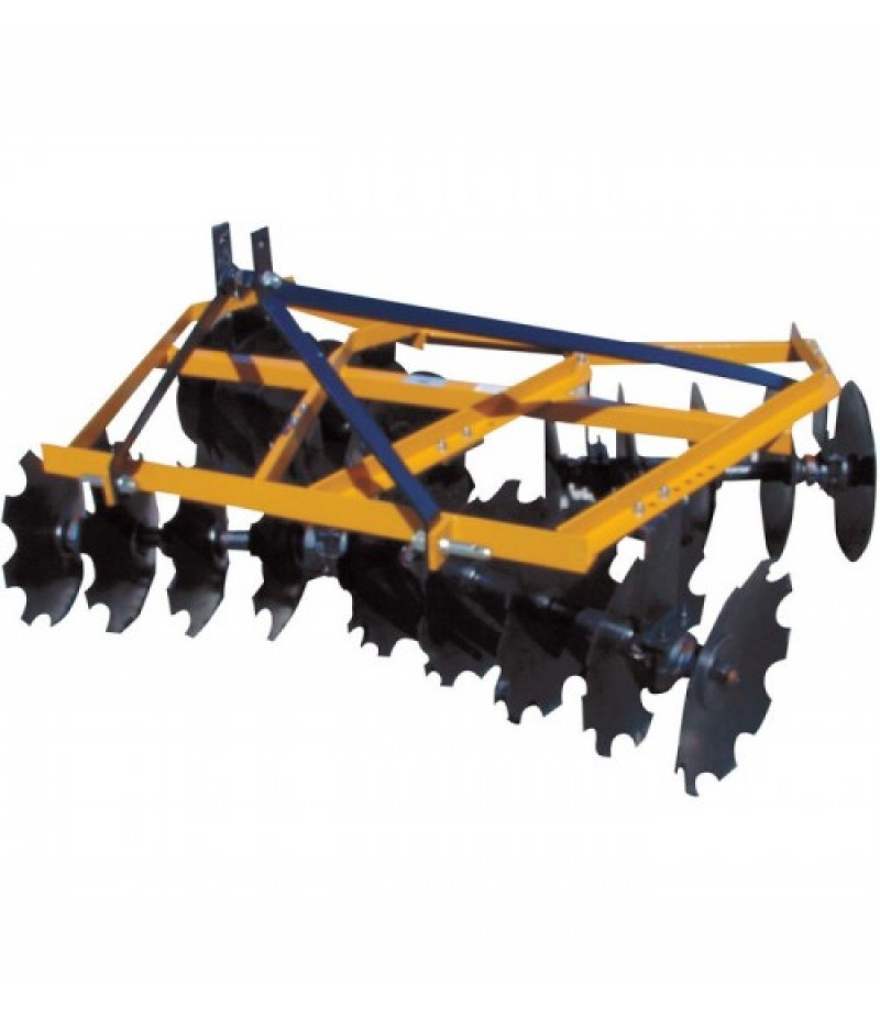 King Kutter Angle Frame Disc Harrow - 5 1/2-Ft., Combination, Model# 16-16-C
