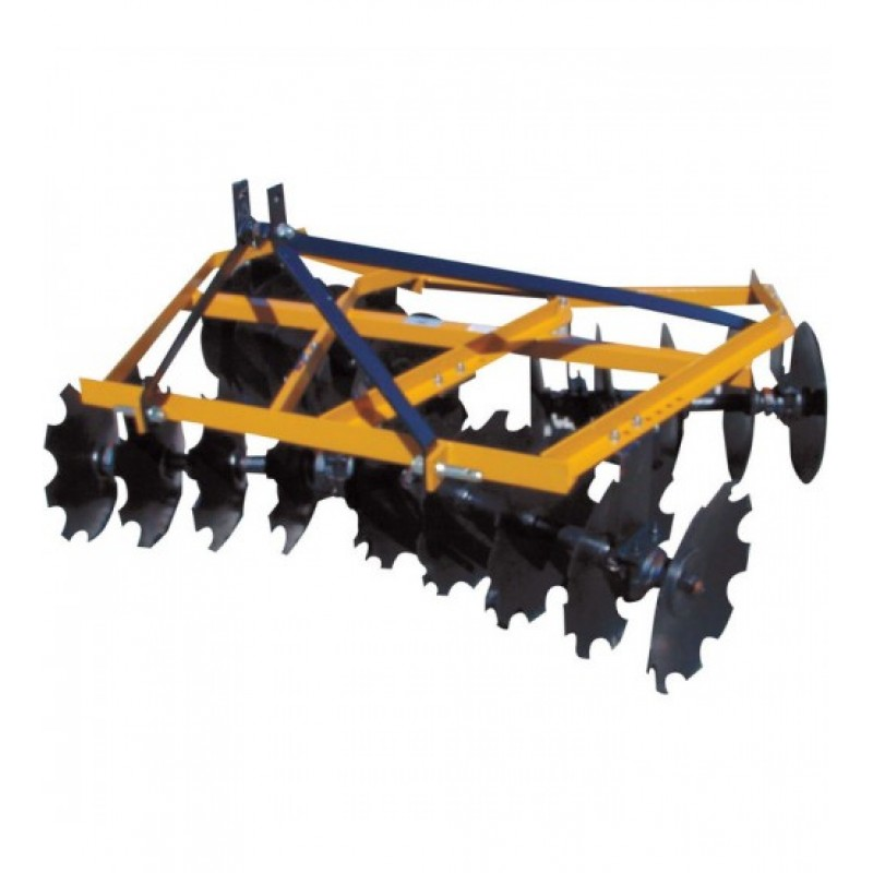 King Kutter Angle Frame Disc Harrow - 5 1/2-Ft., Notched, Model# 18-16-N