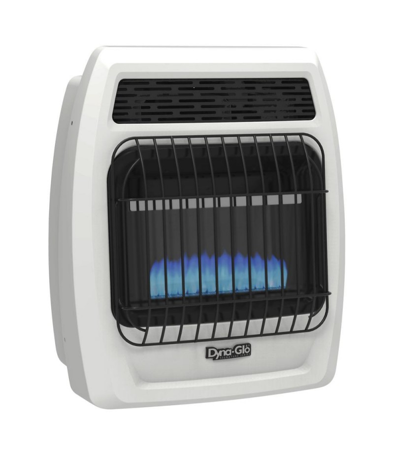 10,000 BTU Natural Gas Blue Flame Vent Free Thermostatic Wall Heater