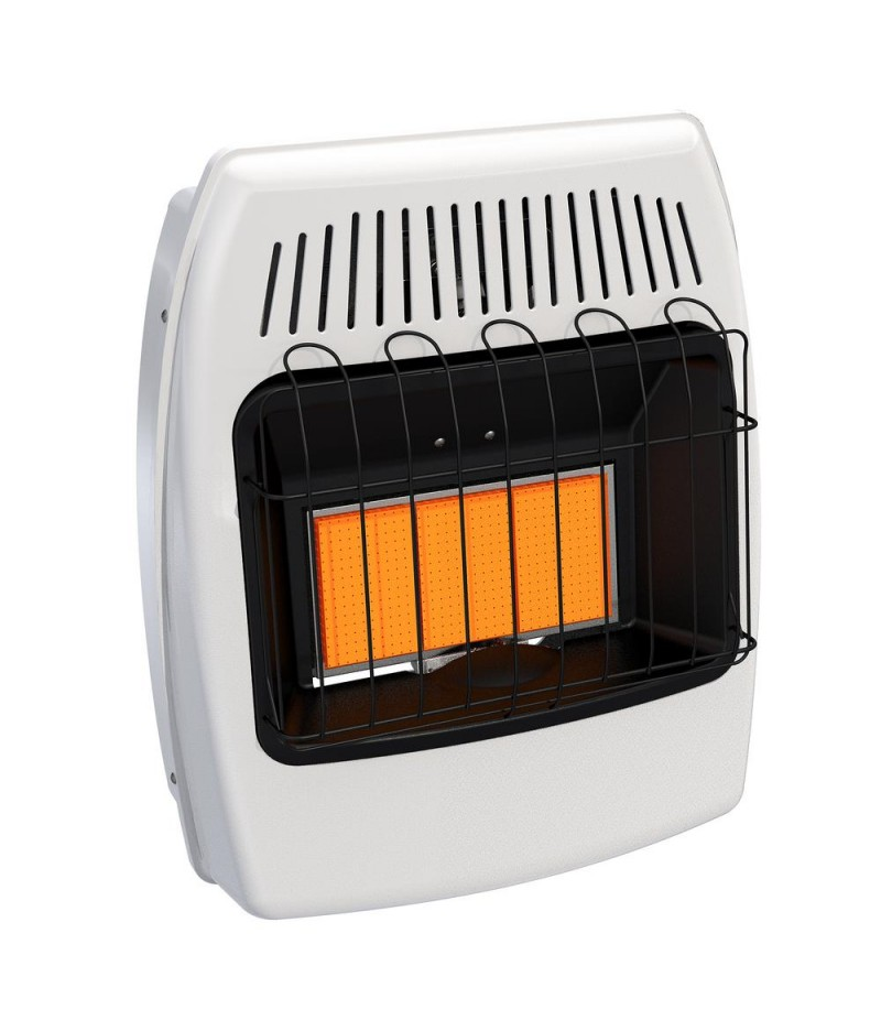 18,000 BTU Infrared Vent Free Natural Gas Wall Heater