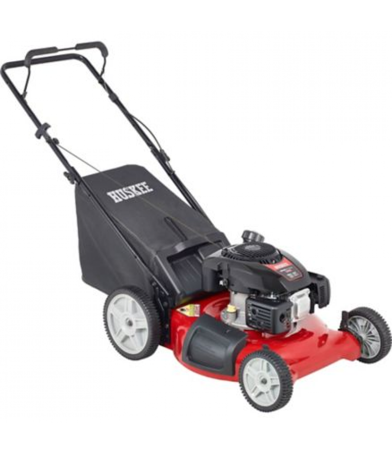 Huskee 21 in. 149cc 3-in-1 High-Wheel Push Mower, HM21PH