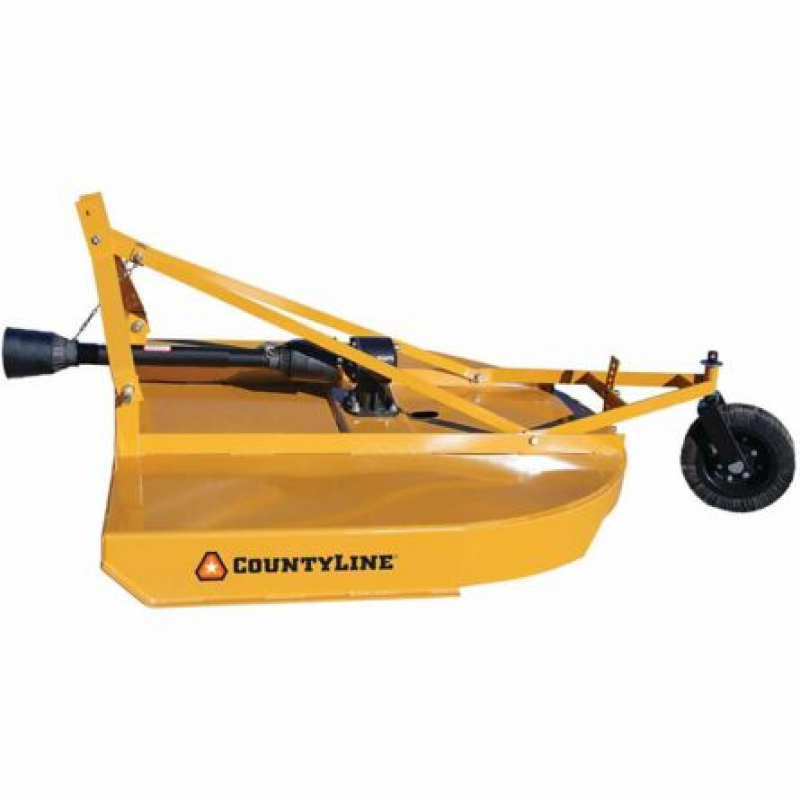 CountyLine Round Back Rotary Cutter, 5 ft.
