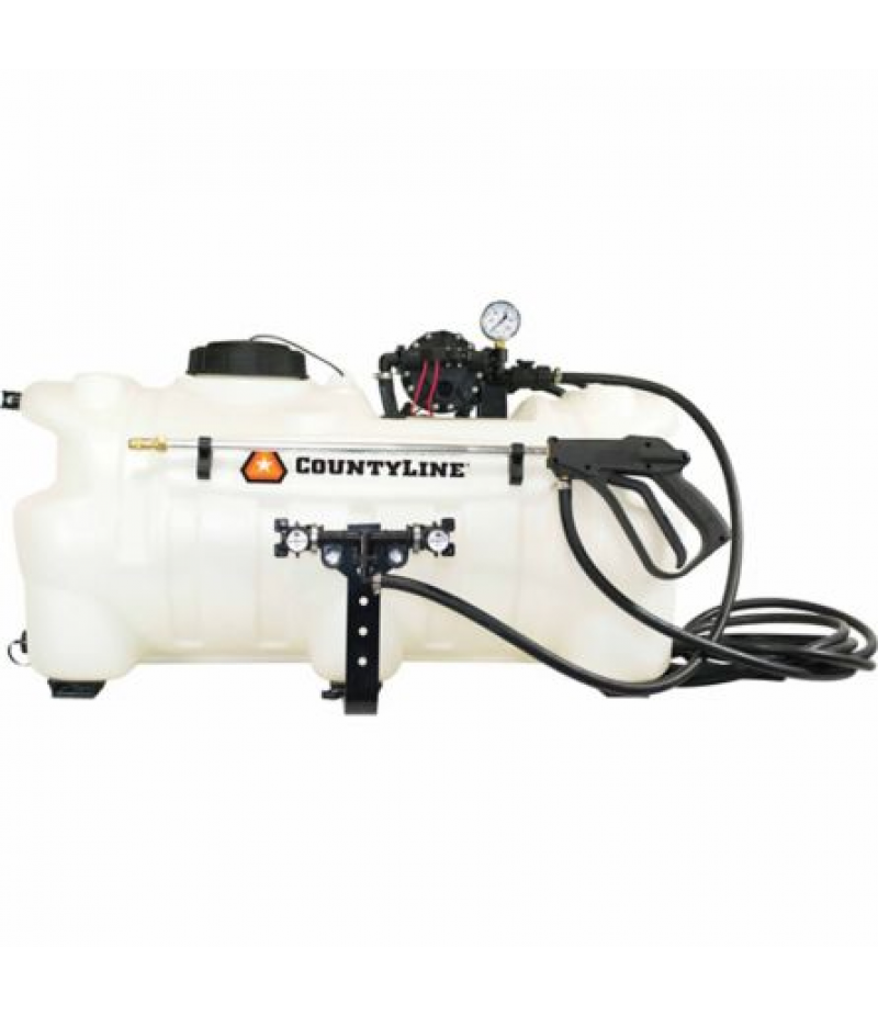 CountyLine 25-Gallon Deluxe ATV Boomless Sprayer