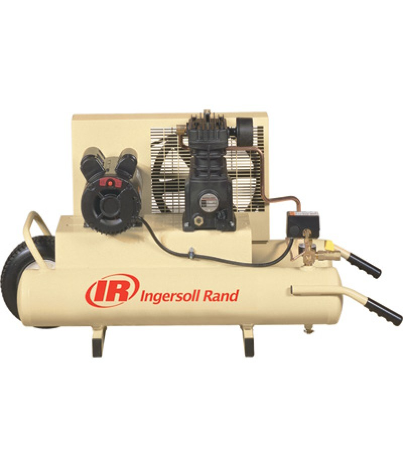 Ingersoll Rand Electric Wheelbarrow Air Compressor - 2 HP, 8-Gallon, 5.7 CFM