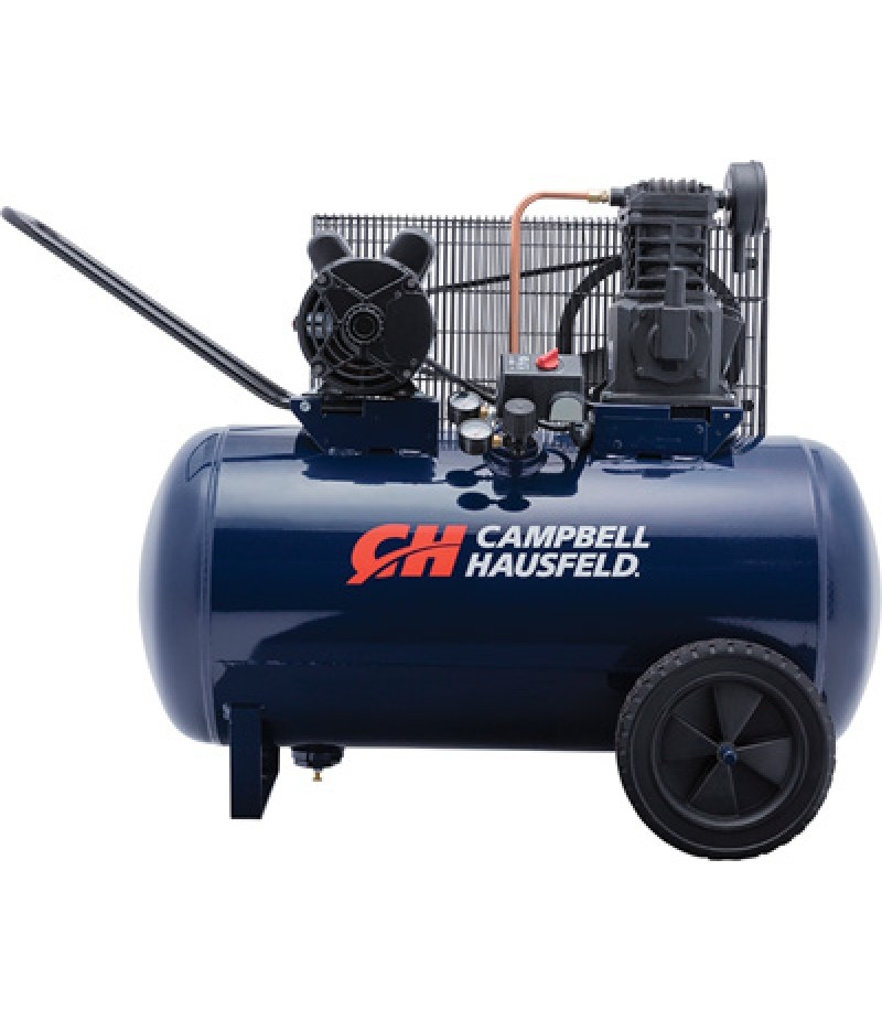 Campbell Hausfeld Portable Electric Air Compressor - 3.2 HP, 30-Gallon Horizontal, 10.2 CFM