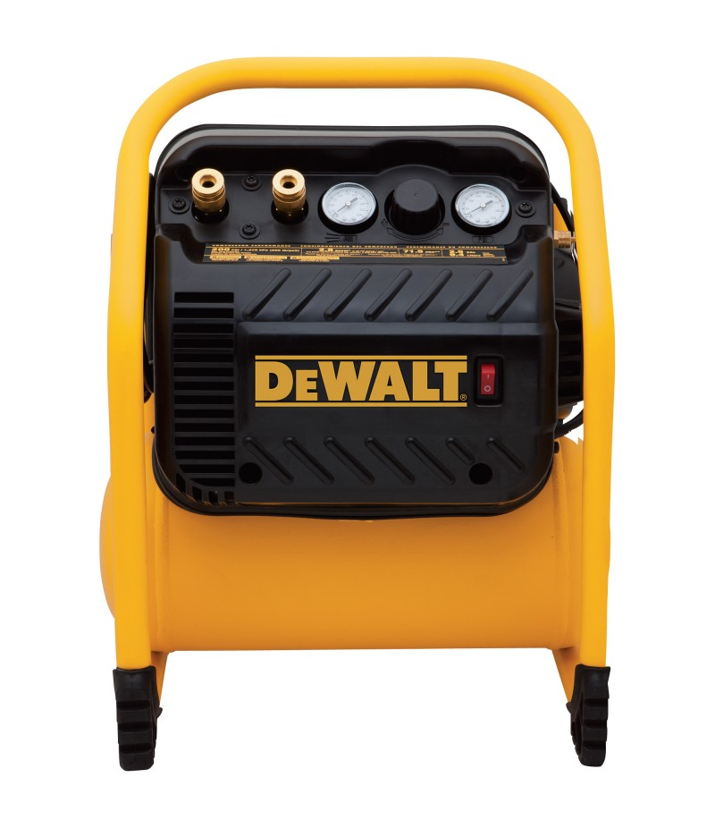 DEWALT Portable Electric Air Compressor - 1.1 HP, 2.5-Gallon, 3.0 CFM
