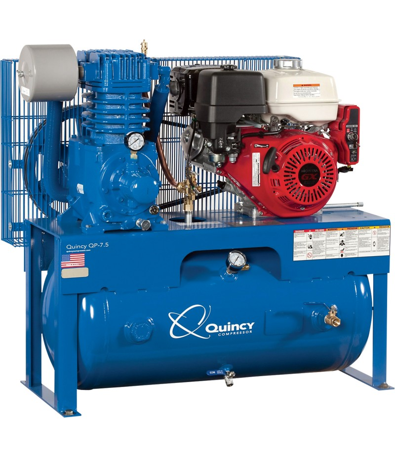 Quincy QP-7 5 Pressure Lubricated Reciprocating Air Compressor - 13