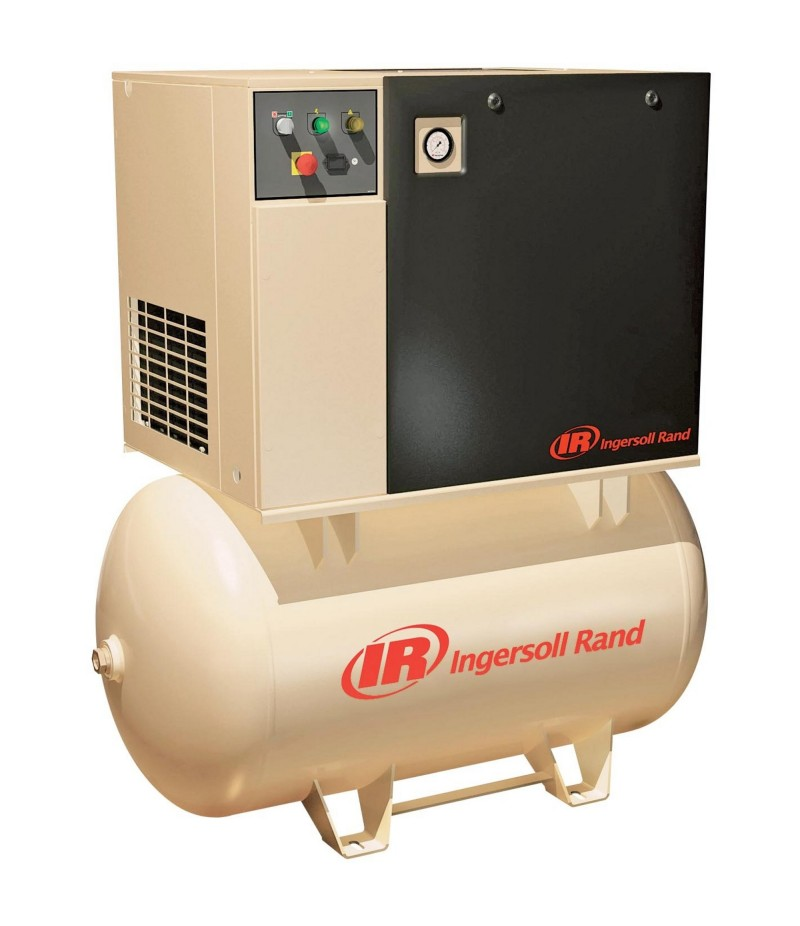 Ingersoll Rand Rotary Screw Compressor - 230 Volts, 3 Phase, 7.5 HP, 28 CFM
