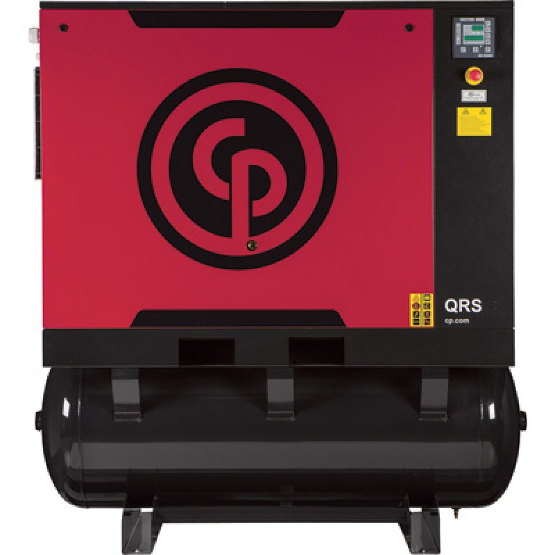 Chicago Pneumatic Quiet Rotary Screw Air Compressor with Dryer