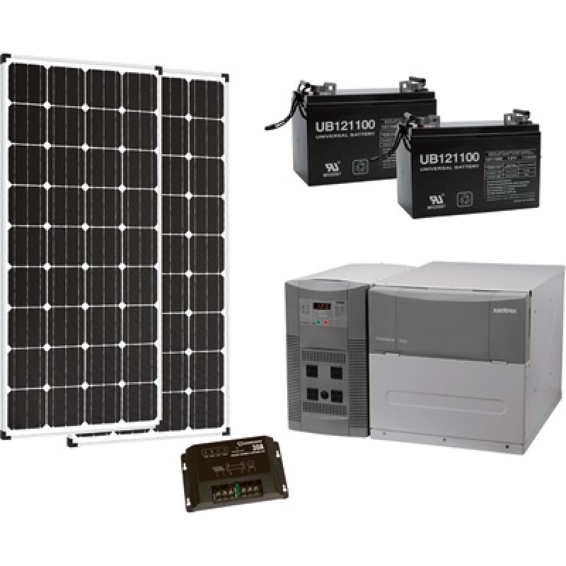 Strongway Complete Solar Power System - 1800 Watts