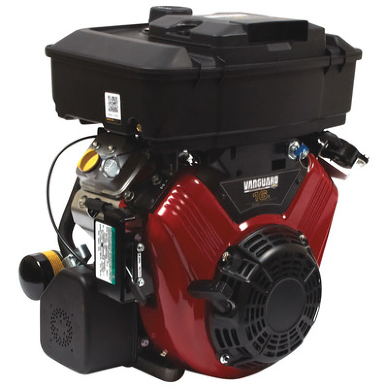 Briggs & Stratton Vanguard V-Twin Horizontal Engine with Electric Start - 479cc, 1in. x 2 29/32in. Shaft