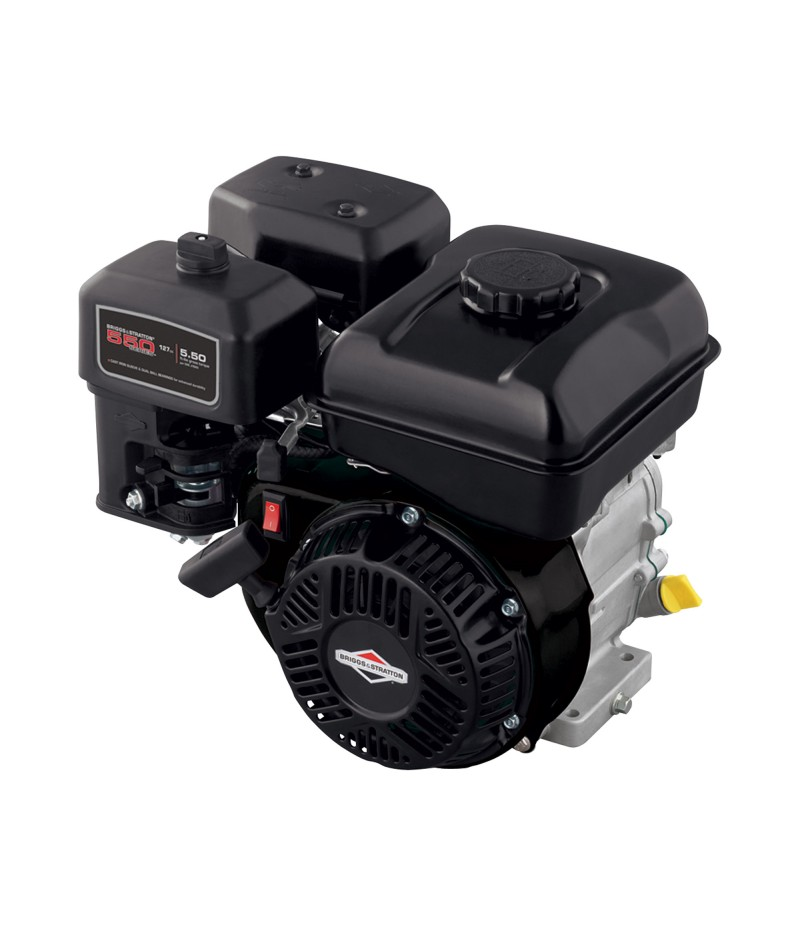 Briggs & Stratton 550 Series Horizontal OHV Engine - 127cc, 3/4in. dia. x 2in.L Shaft, 6:1 Gear Reduction