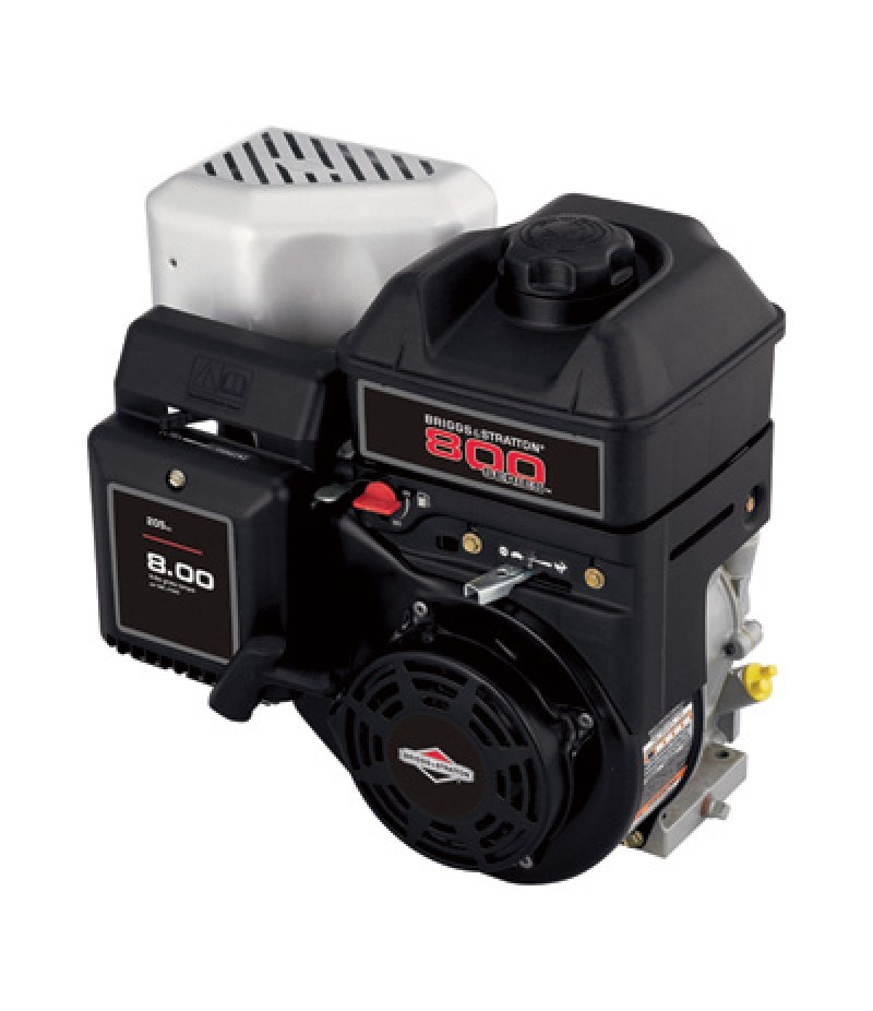 Briggs & Stratton 800 Series Horizontal OHV Engine with 6:1 Gear Reduction - 205cc, 3/4in.dia. x 2in.L Shaft