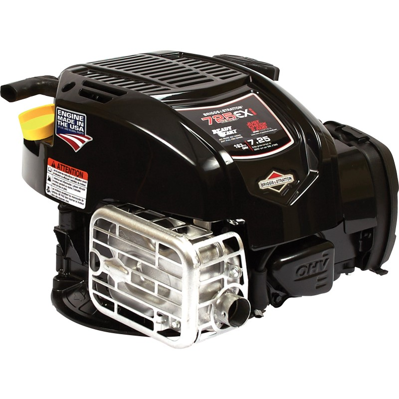 Briggs & Stratton OHV Lawn Mower Engine - 163cc, 7/8in. x 3 5/32in. Shaft