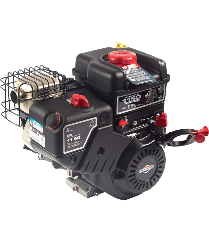 Briggs & Stratton Snow Blower Engine with Electric Start - 250cc, 1in. x 2.761in. Shaft