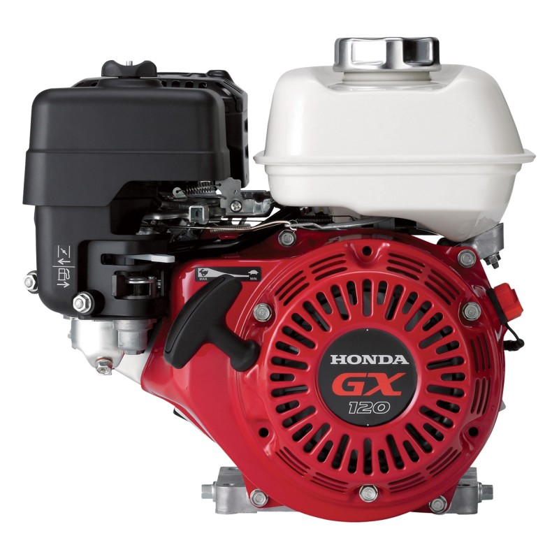 Honda Horizontal OHV Engine with 6:1 Gear Reduction - 118cc, GX Series, 3/4in. x 2 3/64in. Shaft
