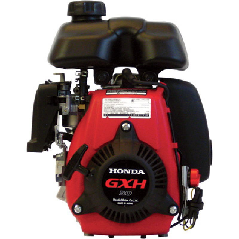 Honda Horizontal OHV Engine - 49.4cc, GXH Series, 5/8in. x 1 1/4in. Shaft