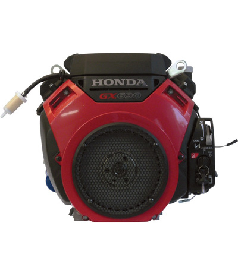Honda GX Series V-Twin OHV Engine with Electric Start - 688cc, 1 1/8in. x 3.55in. Shaft