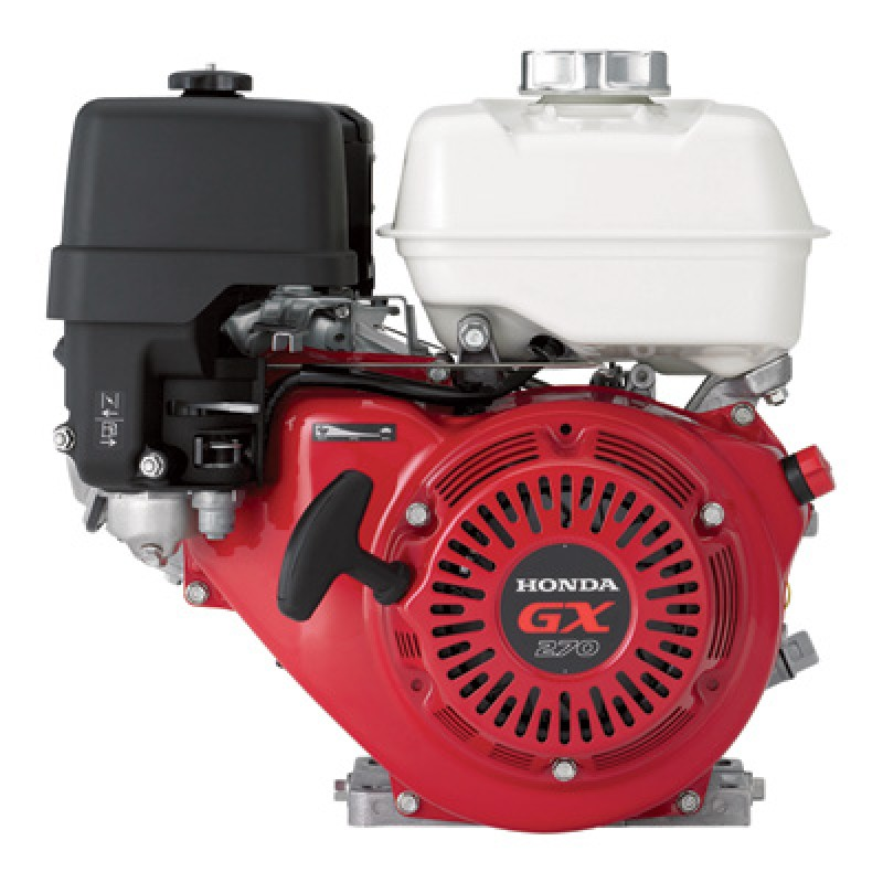 Honda Horizontal OHV Engine for Generators - 270cc, GX Series, Tapered 7/8 in. x 4 11/64in. Shaft