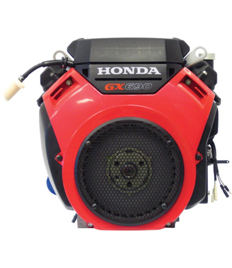 Honda 688cc GX Series V-Twin OHV Engine with Electric Start - 688cc, 1 1/8in. x 2 29/32in. Shaft
