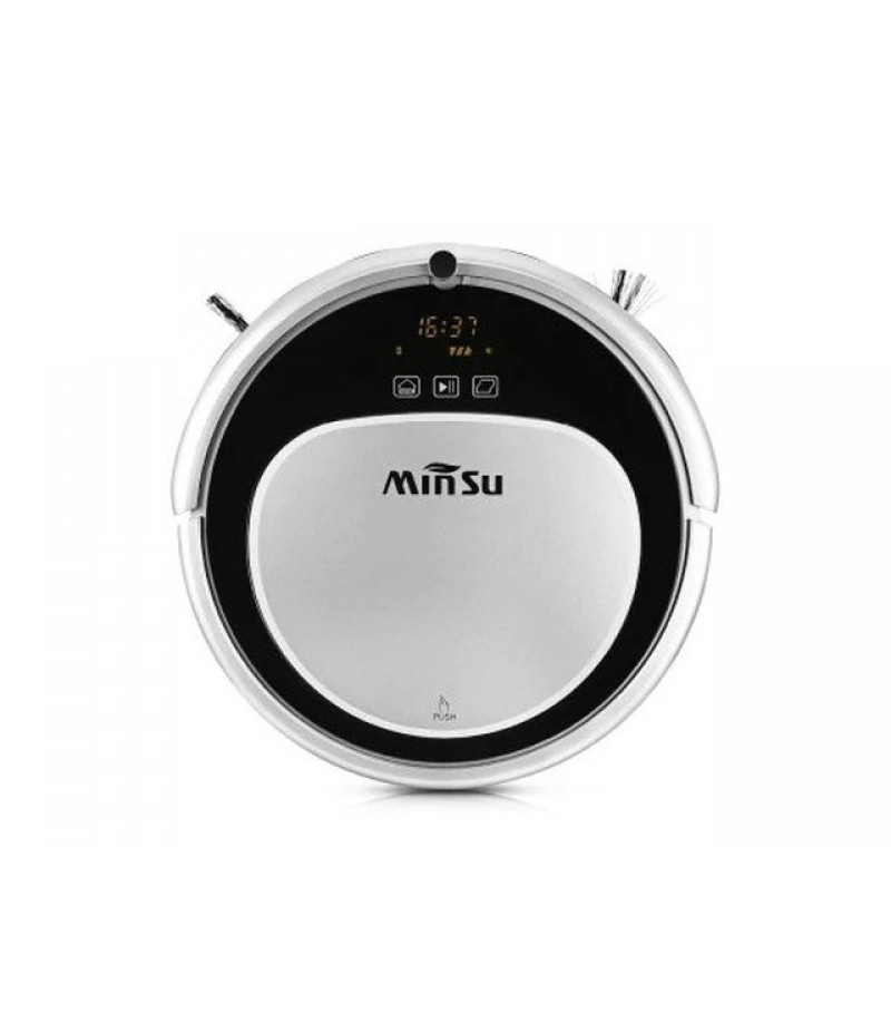 MinSu MSTC09 Smart Navigation Robotic Vacuum Cleaner - WHITE EU PLUG