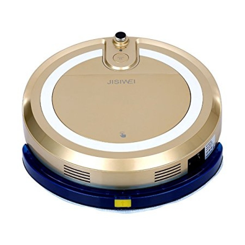 JISIWEI Vacuum Cleaning Robot i3 with Built-in HD Camera APP Remote Control for Android and iOS Smartphone - GOLDEN EU PLUG