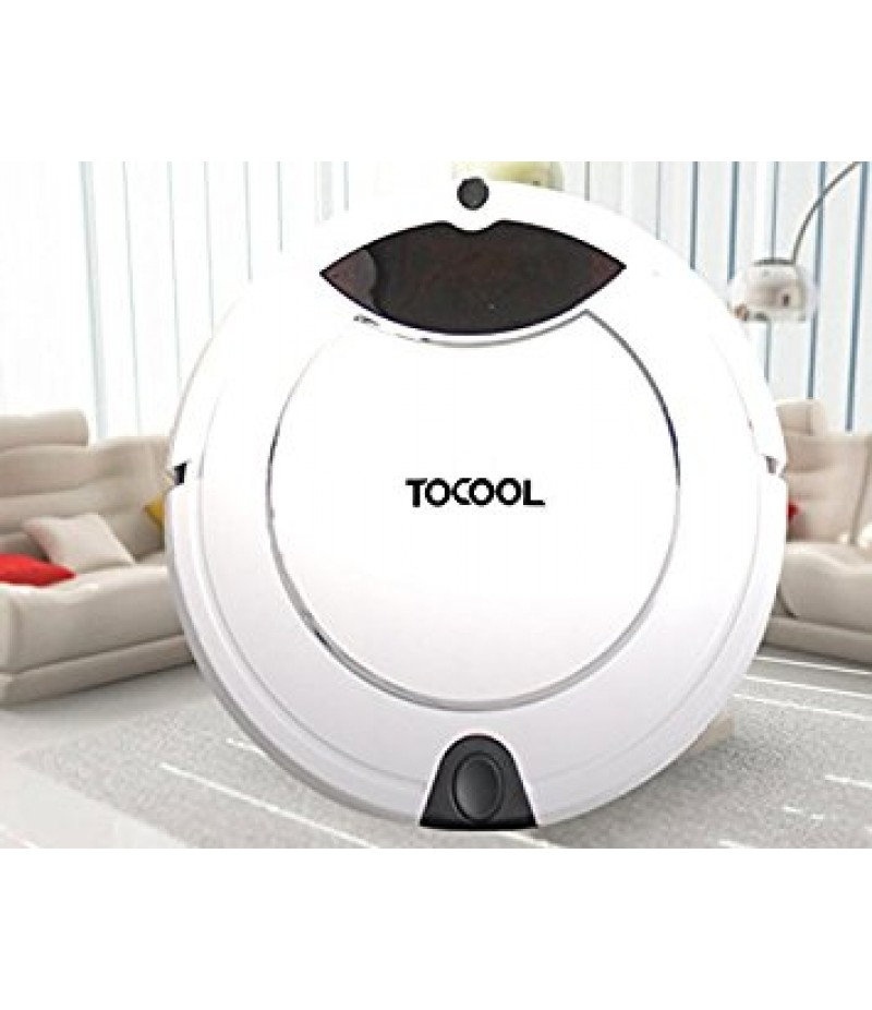 TOCOOL TC - 450 Smart Robotic Vacuum Cleaner - WHITE US PLUG