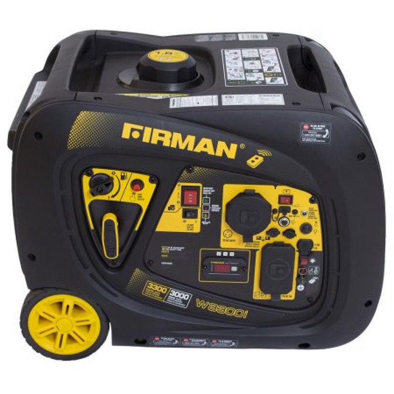 Firman W03081 - Whisper Series 3000 Watt Inverter Generator w/ RV Outlet