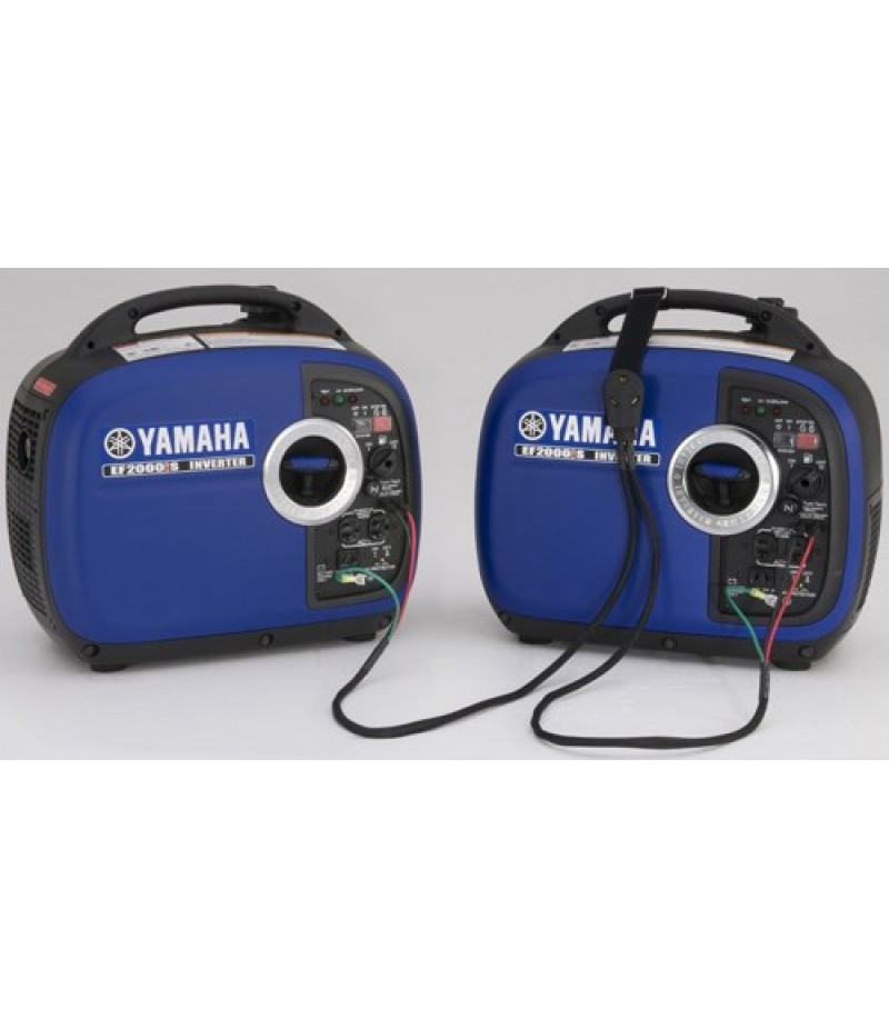 Yamaha EF2000iSv2 (1) Inverter Generator w/ Sidewinder 30-Amp RV Parallel Cable Kit