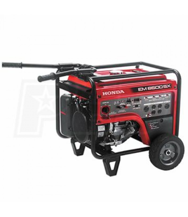 Honda EM6500 - 5500 Watt Portable Generator w/ Electric Start
