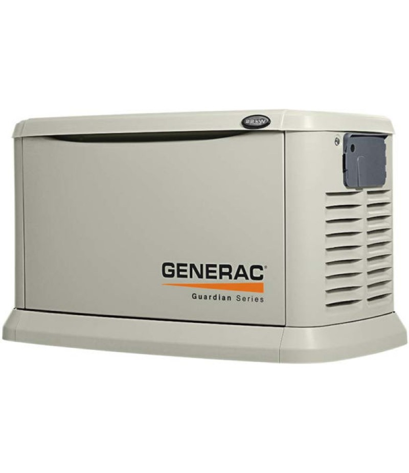 Generac Guardian™ 22kW Standby Generator System (200A Service Disconnect + AC Shedding)