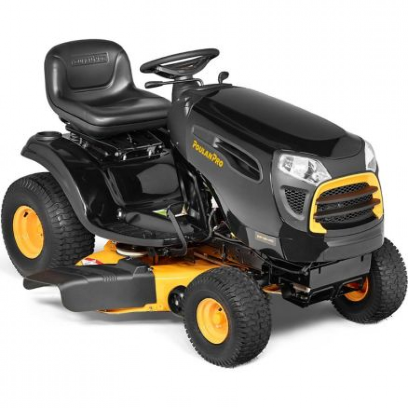 Poulan PRO 42 in. 19 HP Briggs & Stratton Riding Lawn Mower, PP19H42
