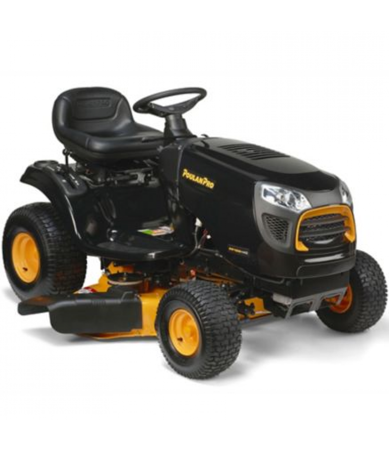 Poulan PRO 42 in. 15.5 HP Briggs & Stratton Riding Lawn Mower, PP155H42