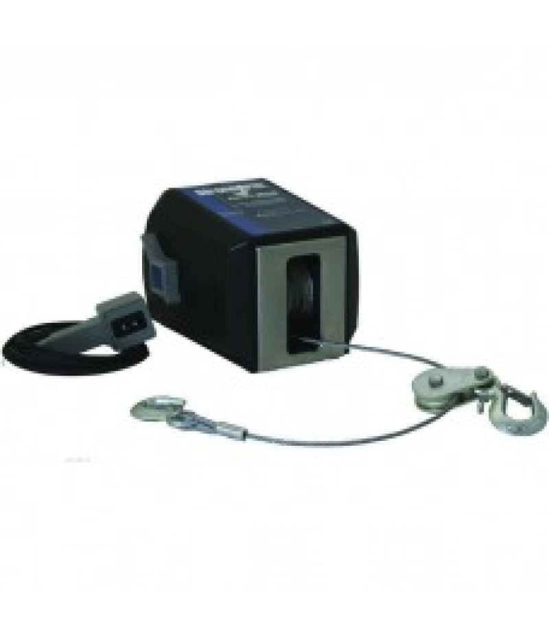Dutton-Lainson StrongArm 12 Volt DC Electric Winch with Remote - 2200-Lb. Capacity