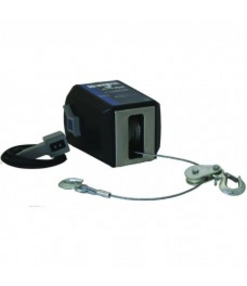 Dutton-Lainson StrongArm 12 Volt DC Electric Winch with Remote - 4500-Lb. Capacity