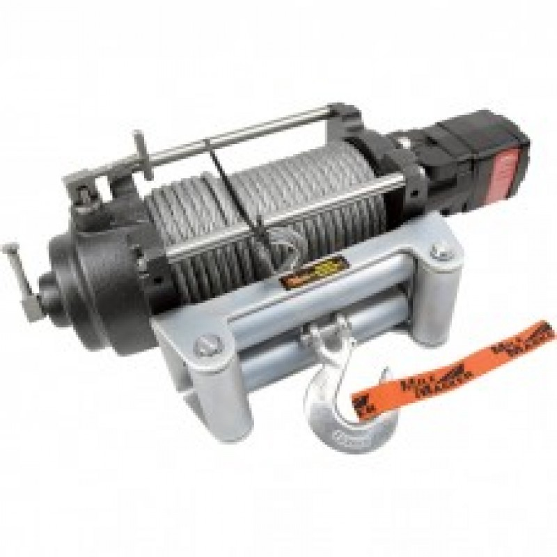 Mile Marker H-Series Hydraulic Winch - 12,000-Lb. Capacity, 12 Volt DC