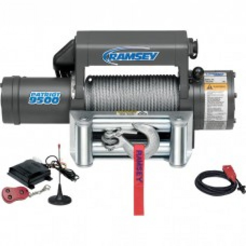 Ramsey Patriot 12 Volt Truck Winch With Wireless Remote - 9500-Lb. Capacity
