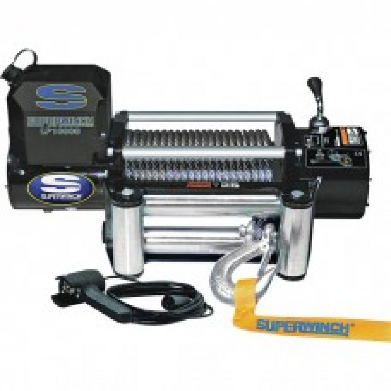 Superwinch 12 Volt DC Truck Winch - 10,000-Lb. Capacity, Wire Rope