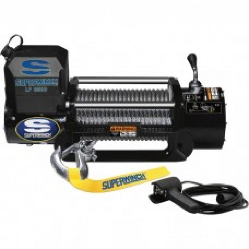Superwinch 12 Volt DC Truck Winch - 8500-Lb. Capacity, LP8500