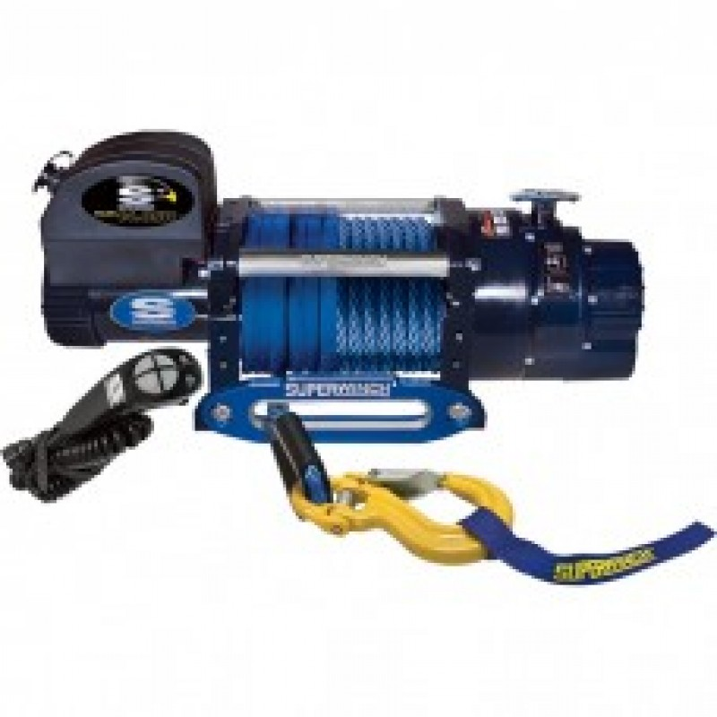 Superwinch 12 Volt DC Truck Winch with Remote - 14,000-Lb. Pulling Capacity