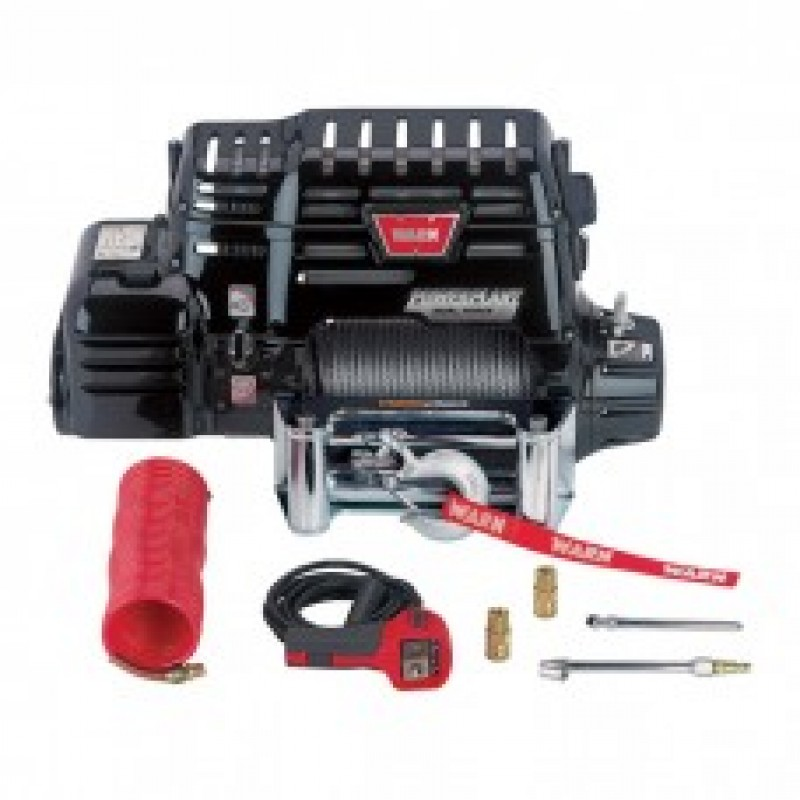 WARN PowerPlant Dual Force HD Winch/Compressor - 12,000-Lb. Capacity