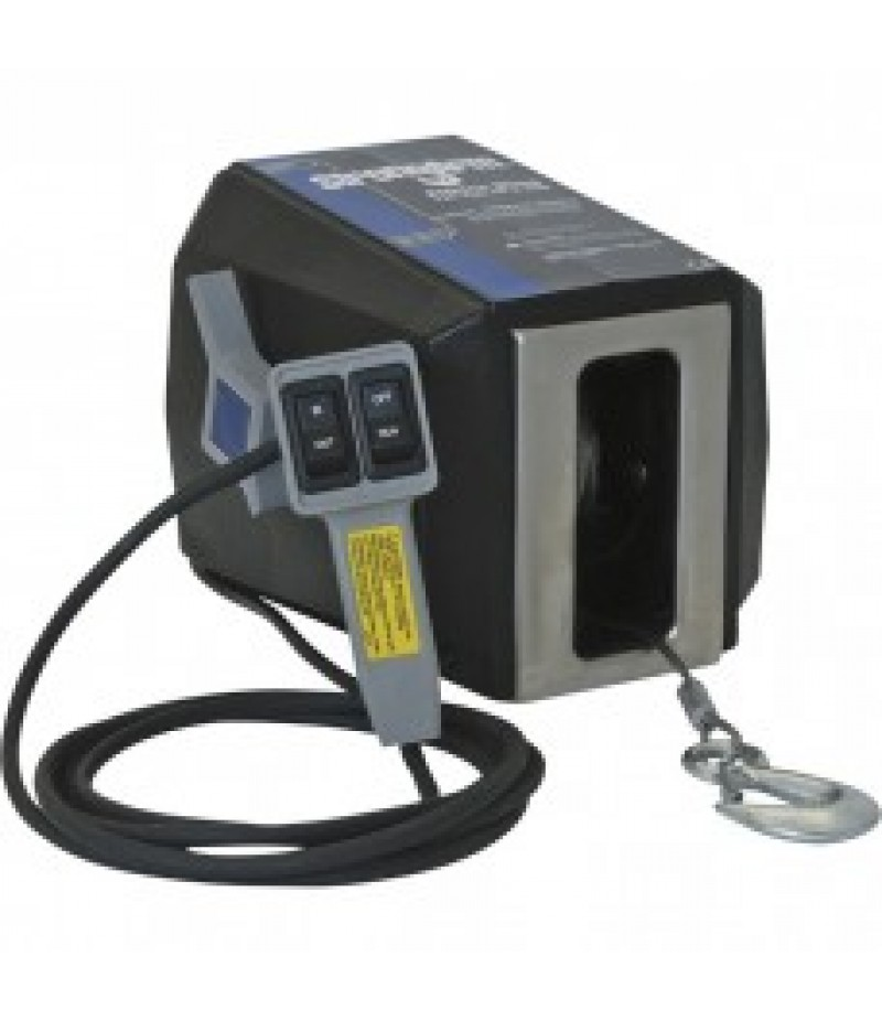 Dutton-Lainson StrongArm 120 Volt AC Powered Electric Winch with Remote - 1200-Lb. Capacity,
