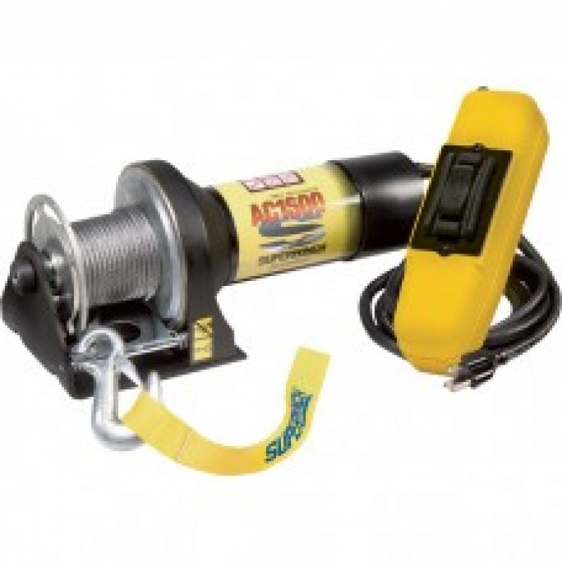 Superwinch 110 Volt AC Powered Utility Winch - 1500-Lb. Capacity